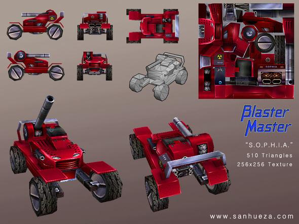 3d game model blaster master by sanhueza on newgrounds. Black Bedroom Furniture Sets. Home Design Ideas