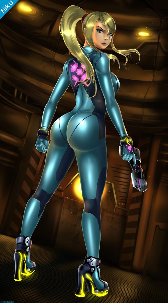 Zero suit samus sex game