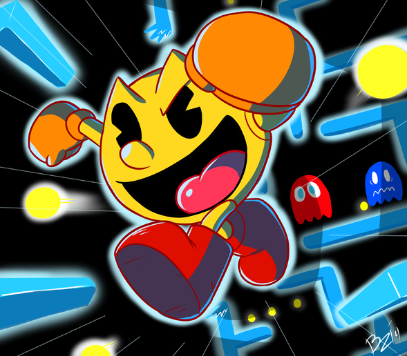 Pacman Smash By Ztoons On Newgrounds