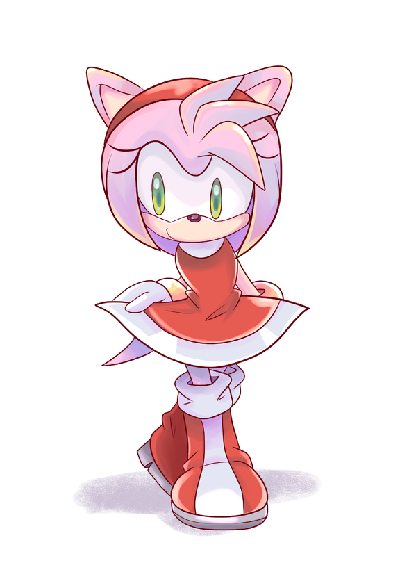 Perks At Work >> Amy Rose by Bbycheese on Newgrounds