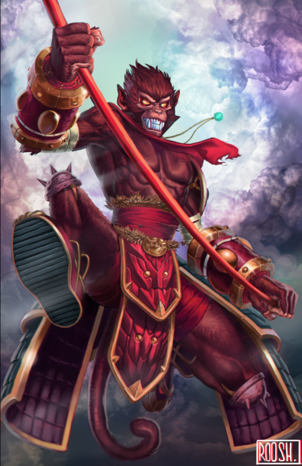 Wukong- League of Legends by Rooshie on Newgrounds