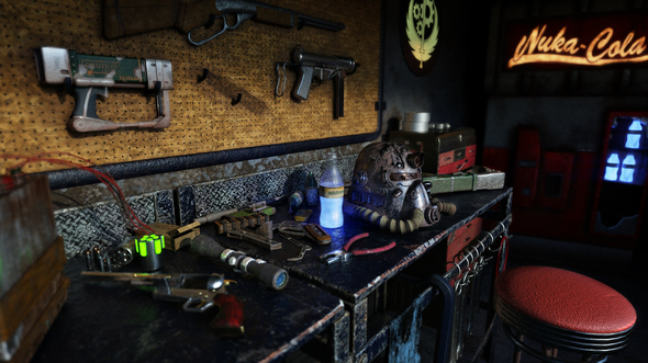 Fallout Themed Room By Escapement On Newgrounds
