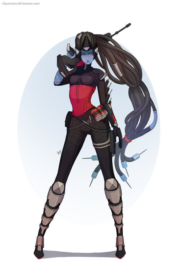 720 Credit Score >> Overwatch Widowmaker by clayscence on Newgrounds