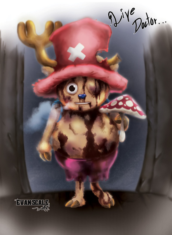 tony tony chopper  u0026 the amiudake mushroom by evanscale on newgrounds