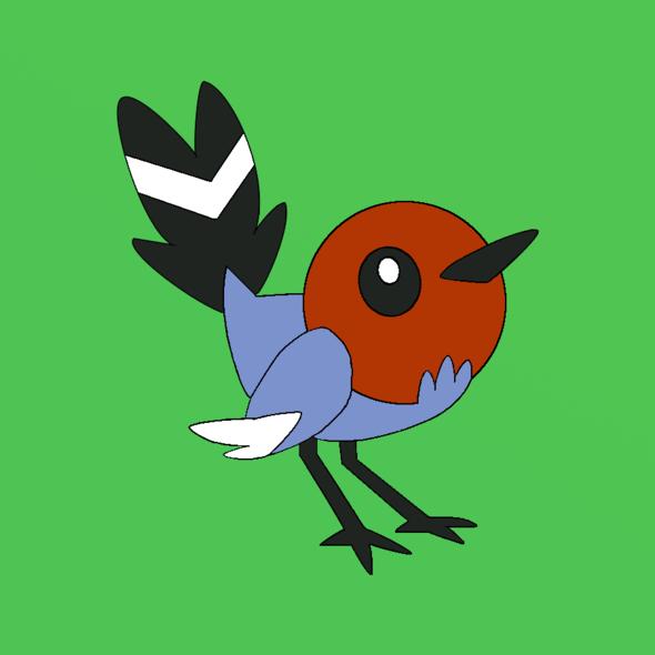 Perks At Work >> Pokemon Fletchling by MarcCobley on Newgrounds