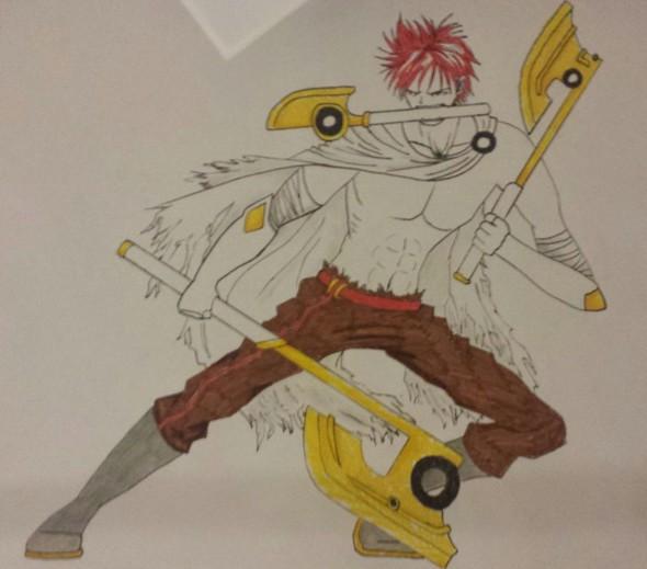 The Legend Of The Axe Warrior By AnimeMangaKakashi2 On