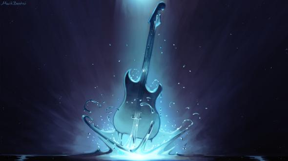 Water Guitar By Bentusi Paladin On Newgrounds