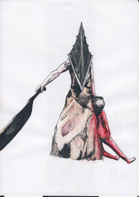 Pyramid Head 1 by Zombie-clock-monkey on Newgrounds