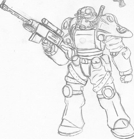 Fallout 3 Sketch By Eightball6219 On Newgrounds