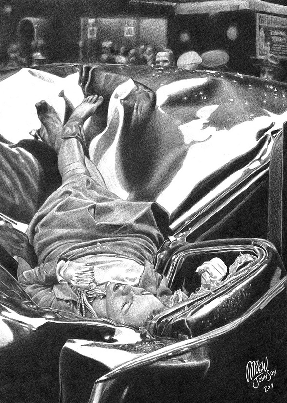 Evelyn Mchale The Beautiful Suicide By Drewjohnson On
