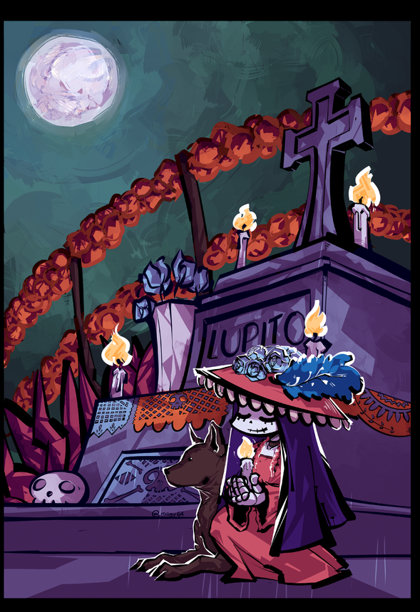 day of the dead 2017 by mogy64 on Newgrounds