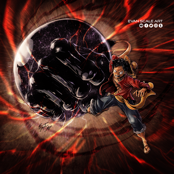 Monkey D Luffy By Evanscale On Newgrounds