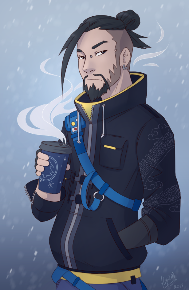 casual hanzo by flopicas on newgrounds