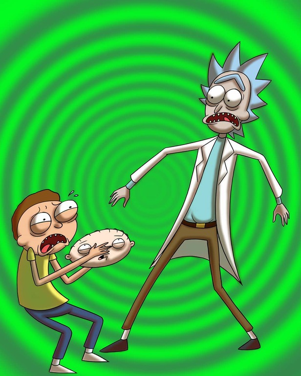 rick and morty by wessmithanimations on newgrounds