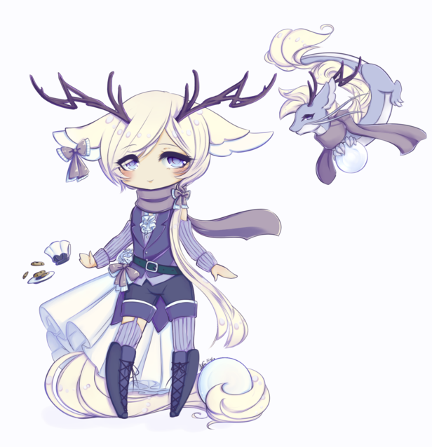 Tea dragon anime boy lavender and jasmine by princeransom - Anime boy dragon ...