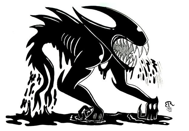 Beast Bendy By Piddies0709 On Newgrounds