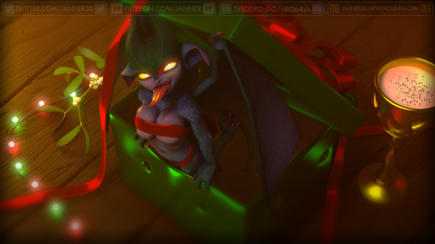 Gift-Wrapped By Janner3D On Newgrounds-3719