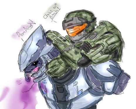 Halo Reach Assassinations By Halochief89 On Newgrounds