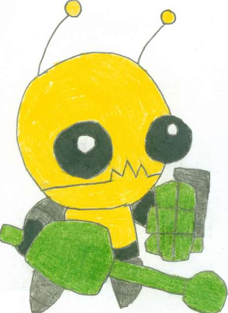 Perks At Work >> Castle Crashers Alien Hominid by aaronman99 on Newgrounds