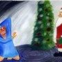 Santa is scary