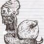 HARDCORE METAL DEATH SNAIL by LordZeebmork