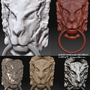 Lionhead (zbrush) by AlexisGOAR
