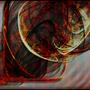 Flaming Tornado by Nav