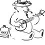Bear With A Banjo by ZombieArmy