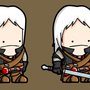 Geralt of Rivia CC Style by ThePsychoSheep