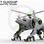 Light Gunship by 3D-xelu