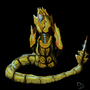 Naga/Protoss hybrid by ChrisDaemon