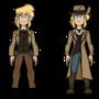 Perpetual Son: Formal/Deputy Chris model sheet