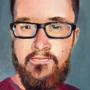Self portrait - oil on canvas