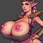 Busty elf