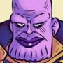Purple Space Guy