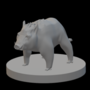 Tabletop Grand Boar Miniature