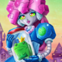 Prince Frog-in-Jar and Robot Princess