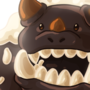 Chocolate cream dragon