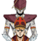 Commission - Pope Artpop and his stand [Holychild]