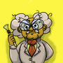 Human Professor Frankly by Eccentric-Servbot