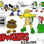 Bowser's Kingdom Characters by Mario644