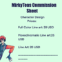 Mirky-tea's NEW Commission price sheet