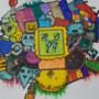 Doodle Art Geometric