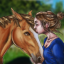 Sister and Horsie