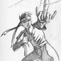 Big Jonny 13 Tribute Sketch by Kinsei
