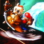 Mario Swings Bowser by pie4ever0