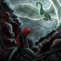 Collab: Zircon and Darkon by o-eternal-o