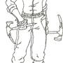 Character design - Christophe by thousandgunner