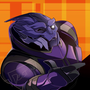 Turian Wink (COMMISSION)