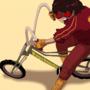 Vagabundo Bicycle. Akira parody